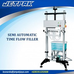 SEMI AUTOMATIC TIME FLOW FILLER