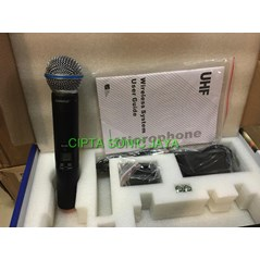 microphone mic shure slx 24 beta 58 wireless