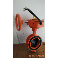 Butterfly Valve c/w Tamper Switch