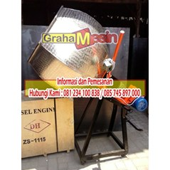 Mesin pencampur bumbu seasoning mixer
