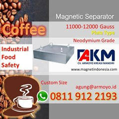 Magnetic Separator Food Safety Untuk Industri Kopi