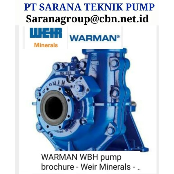 pump pt sarana teknik pump submersible slurry warman weir paump