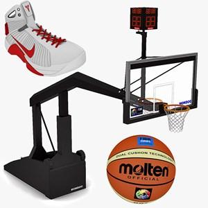 Bola Basket & Perlengkapannya