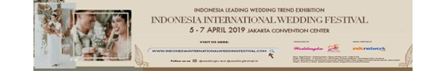 Indonesia International Wedding Festival 2019