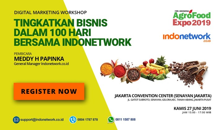 Workshop Agro Food 2019