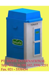 PORTABLE TOILET BIOFIL, FLEXIBLE TOILET FIBREGLASS