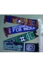 soccer/ football scarves producer, supplier and manufacturer