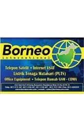 Borneo Communication International, Gudang solar panel, Global cctv, pabrik alat militer, Grosir alat kantor, Distributor alat telekomunikasi, Provider internet vsat, Distributor telepon setelit