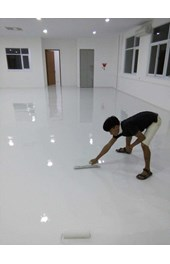 Jasa epoxy lantai floor coating self leveling tebal 300-500-800-1000-1500-2000-3000micron