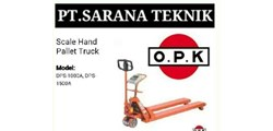 PT. BISHAMON OPK HAND PALLET - STACKER INDONESIA ( sarana group)