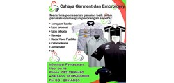 CAHAYA GARMENT and EMBROIDERY