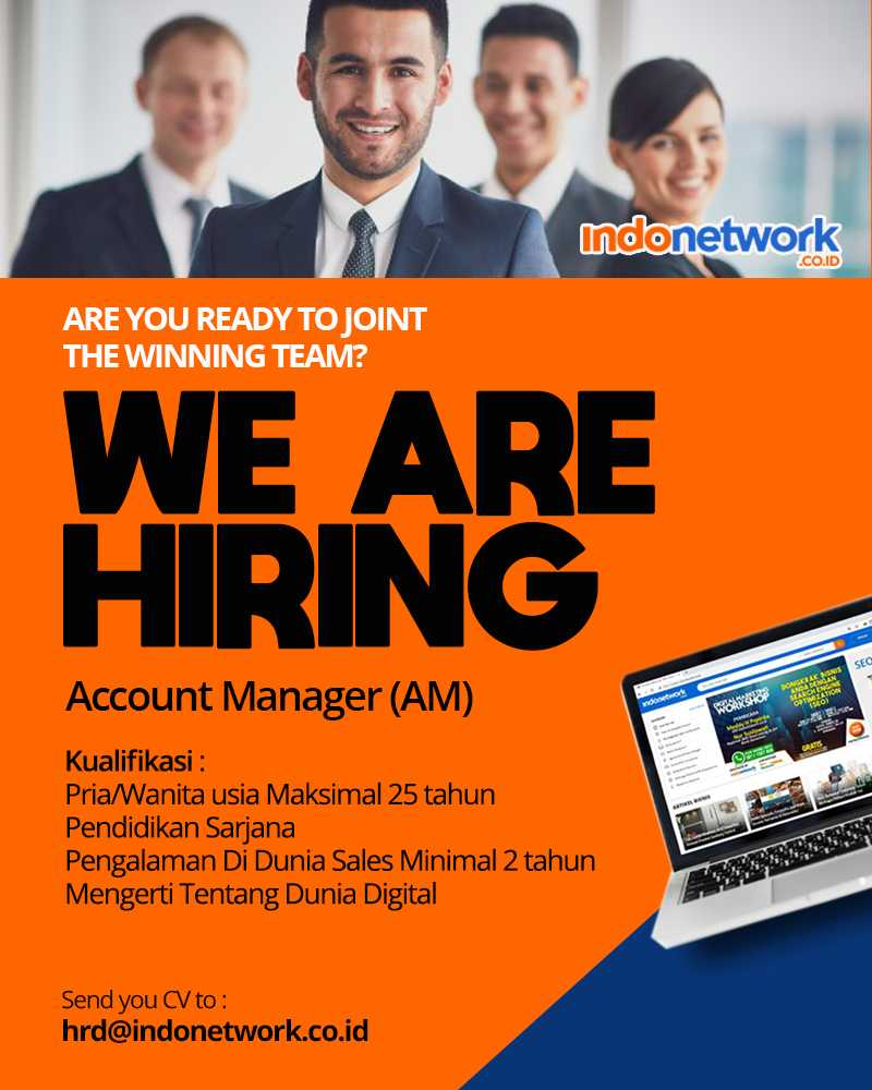Account Manager (AM) indonetwork