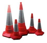 TRAFFIC CONE - SAFETY CONE (KERUCUT PENGAMAN)
