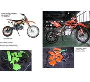 COVER BODY SET KTM YAMAHA YZ