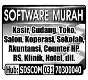 Software murah untuk counter hp, Mini market, salon