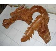 wooden dragon