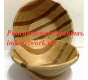Natural Squared Wooden Bowl