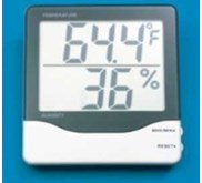 Thermohygrometer dinding