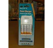 SONY ENELOPE CHARGER+4BATERAI