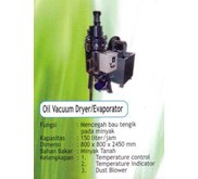 MESIN OIL VACUUM DRYER / EVAPORATOR