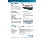 DVR Standalone 8 Ch KPD 608 NEW