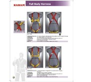 Full Body harness and Lanyard Karam