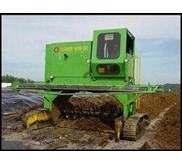 Turner Machine for Composting