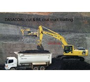 COAL STEAM COAL TRUCK LOADING - BATUBARA