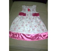 Dress with pink flower IMPORT