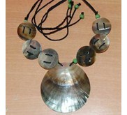necklace shell art indonesia