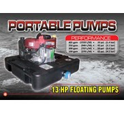 "Floating Fire Pump "" DOLPHIN"" 