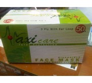 MASKER DISPOSABLE 3 PLY MAXI CARE