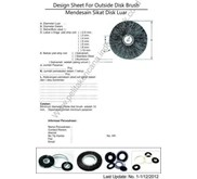 Cara Pesan Sikat Coil Model Spiral dengan as Shaft / How to order coil brush spiral model