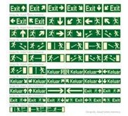 Rambu Emergency Exit Signs