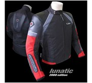 JAKET TOURING CONTIN LUNATIC RED