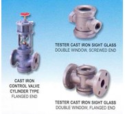 CONTROL VALVE & SIGHT GLASS