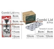 Combi Lid - Stainless Steel