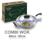 Combi Wok ( Stainless Steel)