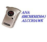 Alcohol tester /  ALCOHOL BREATH TESTER