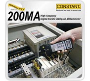 Constant 200MA Digital AC / DC Clamp-on Milliammeter