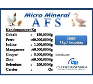 Micro Mineral AFS