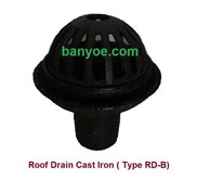 Roof Drain Cast Iron ( Type RD-B)