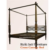 Cross Canopy Bed painted Furniture   French Painted Furniture   minimalist Painted Furniture   Sell Furniture