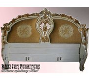 Racoco Upholstery Bed antique art furniture l French Furniture l Painted Furniture l Profesioanal company furniture | Wooden Furniture product | supplier furniture indonesia