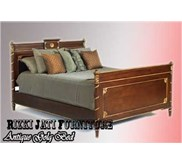 Antique Gold Bed l painted Furniture bed   classic antique bed Indonesia l produsen furniture produsen french furniture indonesia l