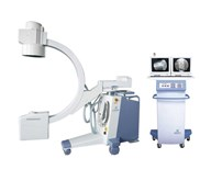 Electronic c-arm x-ray