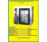 5 Plates Electric Hot Air Rotary Oven