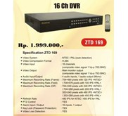DVR 16 channel, made in Taiwan, 2jutaan, Zestron ZTD-169