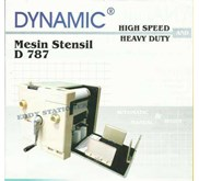 Mesin Stensil DYNAMIC D-787