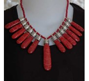 Red Coral Huge Best Pcs Necklace / Kalung Koral Merah